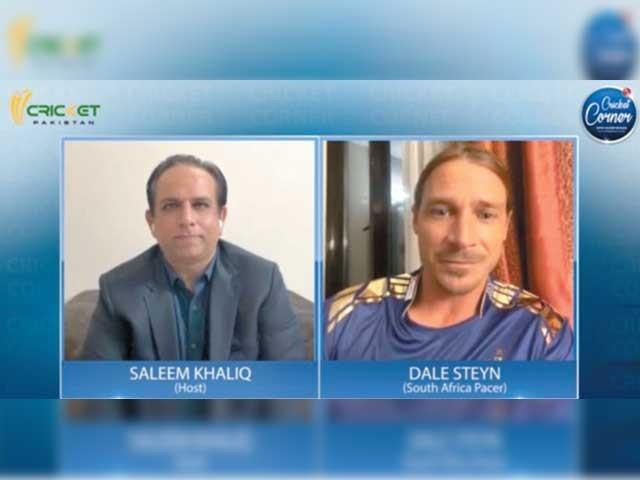 سلیم خالق کو دیا انٹرویو ٹویٹر پر ٹرینڈ، بھارتی چینلز اور ویب سائٹس تبصرے کرتے رہے۔ فوٹو: کرکٹ پاکستان