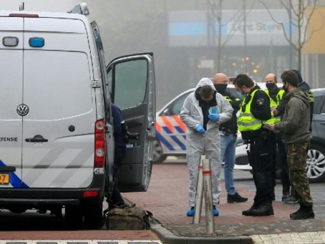 دھماکے میں کوئی جانی نقصان نہیں ہوا، فوٹو اے ایف پی