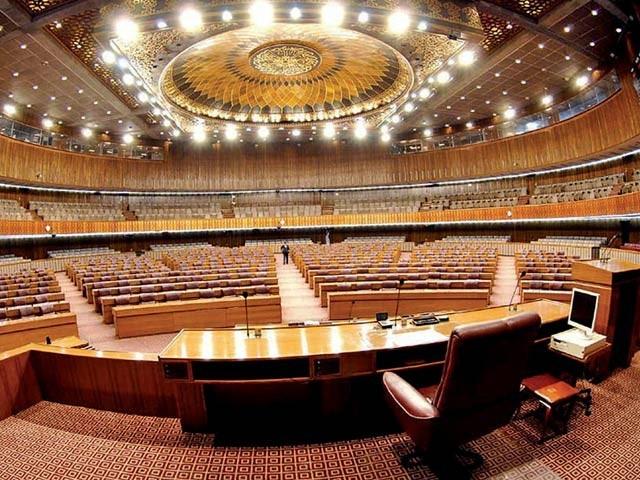 قومی اور تین صوبائی اسمبلیوں میں آج سینیٹ کی 37 نشستوں کے لیے پولنگ ہوئی(فوٹو، فائل)