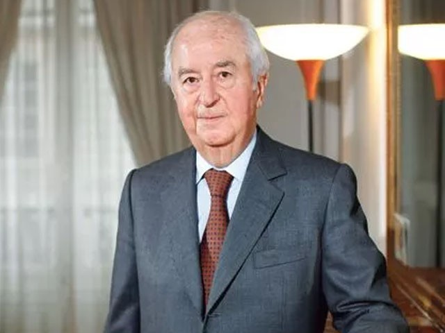 فرانس کے سابق صدر ایڈورڈ بیلاڈور پر آبدوز معاہدے میں کمیشن لینے کا الزام تھا، فوٹو : فائل