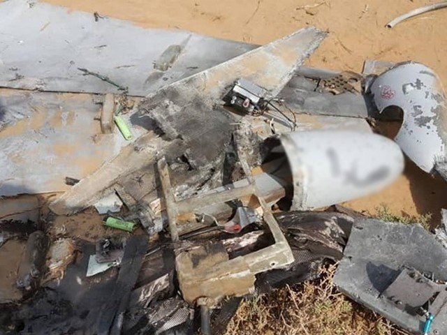 ڈرون حملے گزشتہ 24 گھنٹوں کے دوران کیے گئے، ترجمان عرب اتحاد۔ فوٹو : فائل