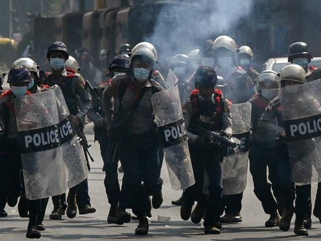 فوجی بغاوت اور ہلاکتوں کے خلاف مظاہرین کا سول نافرمانی مہم شروع کرنے اعلان