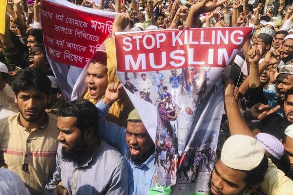Dhaka protest 2