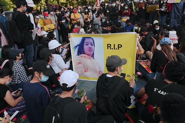 Mayanmar Protestor 3