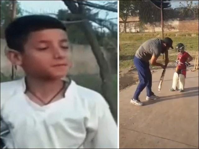 بچے کی ویڈیو دیکھی تو دل خوش ہوگیا، اللّٰہ نے گوہر لیاقت کو بہت ٹیلنٹ سے نوازا ہے، دل خوش ہوگیا، محمد یوسف (فوٹو : اسکرین گریب)