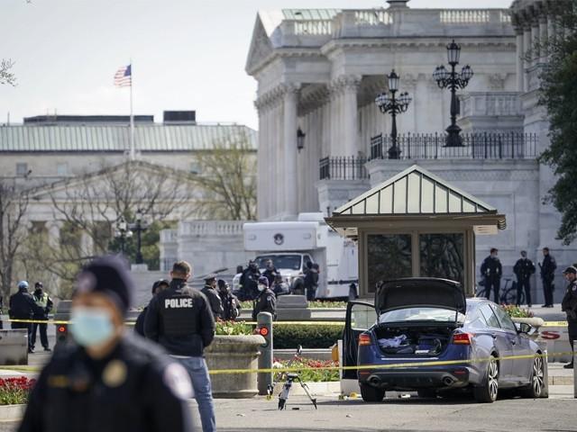 پولیس کی جوابی کارروائی میں حملہ آور ہلاک، امریکی میڈیا۔ فوٹو:اے ایف پی