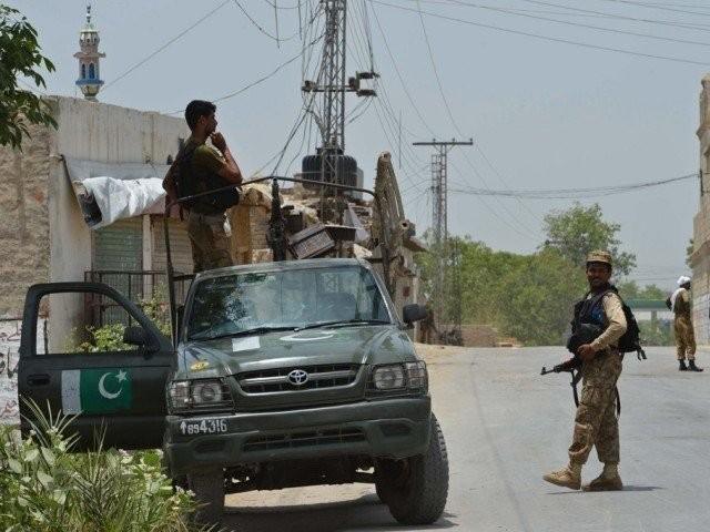 ہلاک ہونے والا دہشت گرد بویا کا رہائشی اشرف اللہ عرف طوفانی تھا، آئی ایس پی آر ۔ فوٹو : فائل