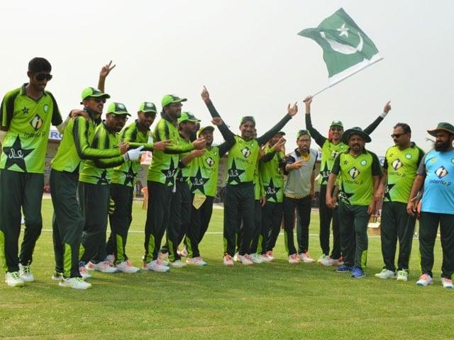 پاکستان بلائنڈ کرکٹ ٹیم نے بھارت کو ہرادیا