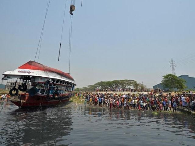 کشتی میں 50 افراد سوار تھے، فوٹو : رائٹرز