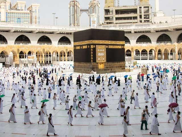 اس بار وہ زائرین عمرہ ادا کرسکیں گے جو ویکسین لگواچکے ہیں، وزارت حج و عمرہ سعودی عرب (فوٹو : فائل)