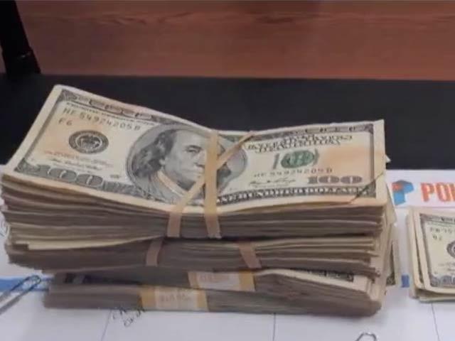 تصویر میں نظرآنے والی رقم 42 ہزار ڈالر کے لگ بھگ ہے جو اوکلاہوما کی تاریخ میں کسی خیراتی ادارے کو خاموشی سے دی جانے والی سب سے بڑی رقم بھی ہے۔ فوٹو: ٹورانٹو سن