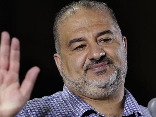 منصور عباس کی جماعت کو 5 نشستیں ملی ہیں جو نئی حکومت کی تشکیل میں حتمی ہوں گی، فوٹو: فائل