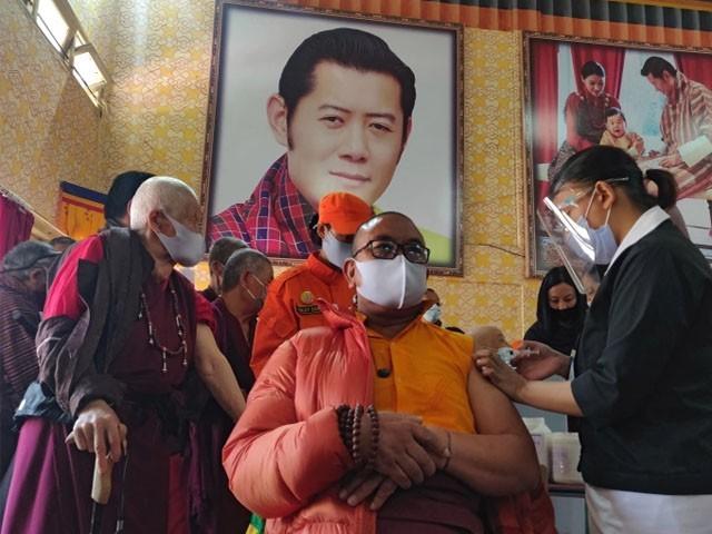 بھوٹان کو بھارت کی جانب سے آسٹرا زینیکا  کی ویکسین عطیہ کی گئی تھی۔