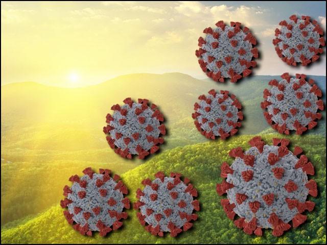 دھوپ کی زیادہ شدت والے علاقوں میں کورونا وائرس سے اموات کی تعداد کم دیکھی گئی ہے۔ (فوٹو: فائل)