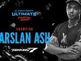 25 سالہ ارسلان ایش صدیقی نے ٹیکن سیون بین الاقوامی ٹورنامنٹ جیت لیا۔ فوٹو: ایکسپریس ٹریبیون