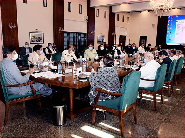 سندھ کابینہ نے مردم شماری کا معاملہ پارلیمنٹ میں لے جانے اور باردانہ کے لیے فارم 7 کی شرط ختم کرنے کی بھی مںظوری دیدی (فوٹو : فائل)