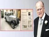 یہ کار شہزادہ فلپس نے 1940 میں خریدی تھی، فوٹو: ٹوئٹر