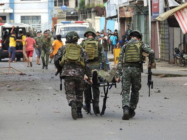 فلپائن فوج کی کارروائی میں دو جنگجو بھی ہلاک ہوئے، فوٹو: فائل