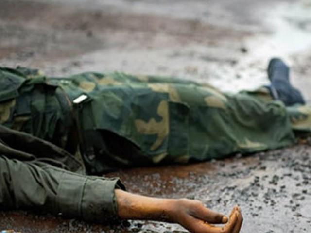 اہلکار نے اپنی ہی سروس رائفل سے فوجی کیمپ میں خود کو گولی مارلی، کشمیر میڈیا سروس