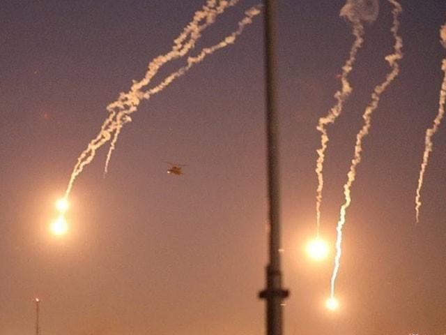 البلد ایئر بیس پر امریکی فوجی مقیم ہیں اور ایک طیارہ بھی موجود ہے، فوٹو : فائل