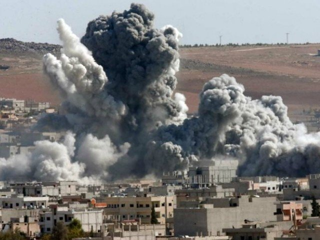 فضائی حملوں میں دہشت گردوں کو نشانہ بنایا گیا، روسی وزارت دفاع