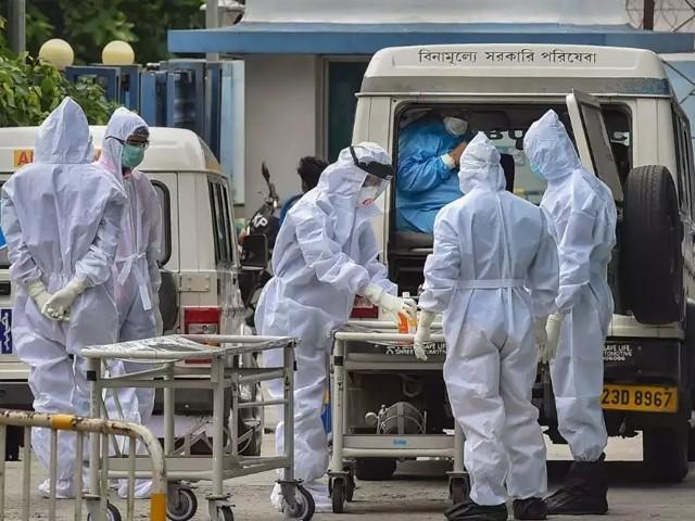 24 گھنٹوں کے دوران وبا سے مزید346,786 افراد متاثر ہوگئے، بھارتی وزارت صحت