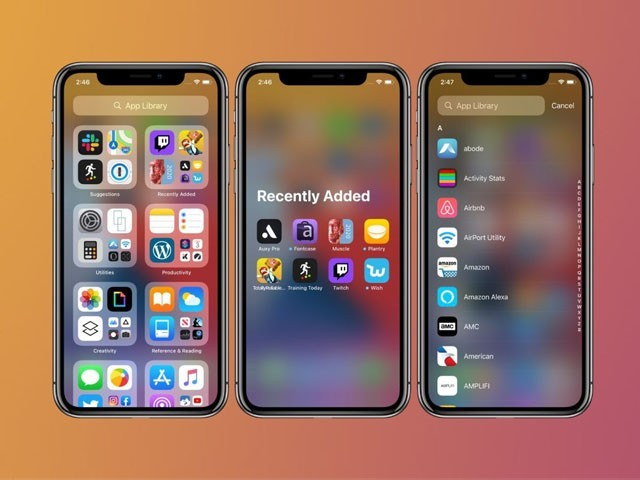 ایپل کو 'ٹائل' کا آئیڈیا کاپی کرنے پر کافی تنقید کا سامنا کرنا پڑ رہا ہے۔(فوٹوـ فائل)