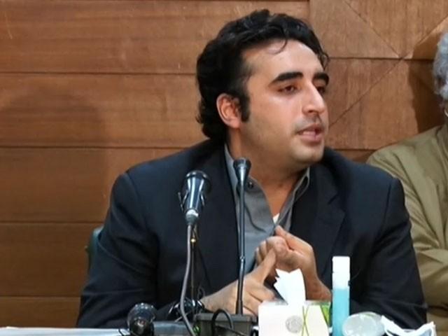 عمران خان نے پی ٹی آئی ایم ایف ڈیل کرکے کروڑوں پاکستانیوں کو بے روزگار کردیا، بلاول بھٹو۔ فوٹو:فائل