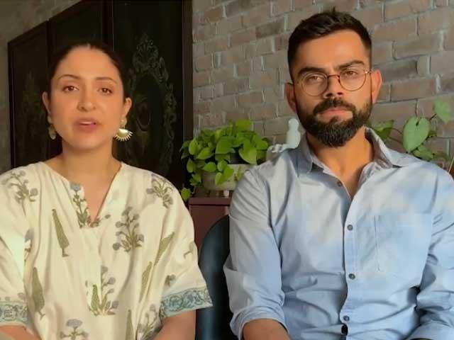 انوشکاشرما اور ویرات کوہلی ان دنوں ممبئی میں اپنے گھر میں قرنطینہ میں ہیں، فوٹوسوشل میڈیا