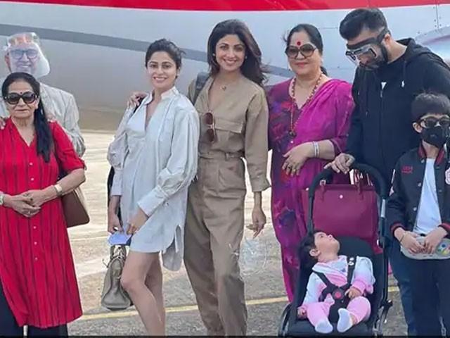 شلپا شیٹھی کے شوہر، بچے، ساس سسر اور ماں کا کورونا ٹیسٹ مثبت تاہم اداکارہ کا ٹیسٹ منفی آیا
