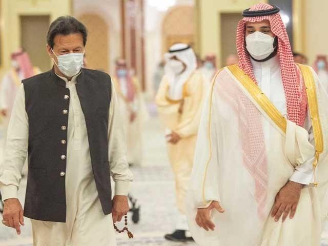 پاکستان کی سعودی عرب کی خودمختاری اورعلاقائی سالمیت کے لیے مستقل حمایت کی یقین دہانی فوٹو: سوشل میڈیا