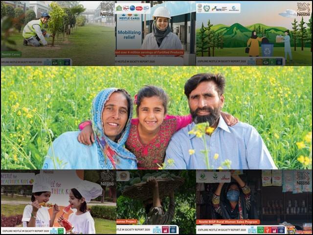 نیسلے کا مقصد غذائیت سے بھرپور غذا کی فراہمی سے آج اور آنے والی نسلوں کے معیار زندگی کو بہتر بنانا ہے۔ (تصاویر بشکریہ: نیسلے پاکستان)