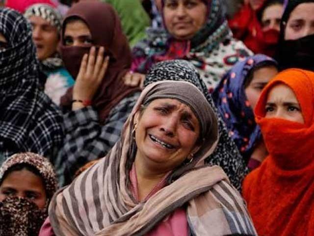 1989سے 9 مئی 2021 تک بچوں سمیت 95 ہزار7 سو80  کشمیری شہید ہوچکے
