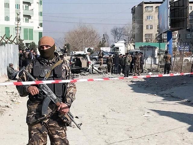 بم دھماکوں میں طالبان ملوث ہیں، افغان وزارت داخلہ فوٹو : فائل