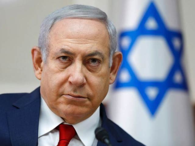 اسرائیلی فوج نے غزہ میں حماس کے خلاف سینکڑوں حملے کیے ہیں، نیتن یاہو(فوٹو:فائل)