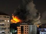 اسرائیل نے دعویٰ کیا کہ 13 منزلہ عمارت حماس کے زیر استعمال تھی، فوٹو: رائٹرز