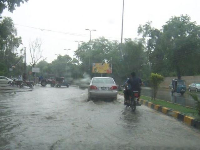 Lahore Samait Punjab Mein Barish