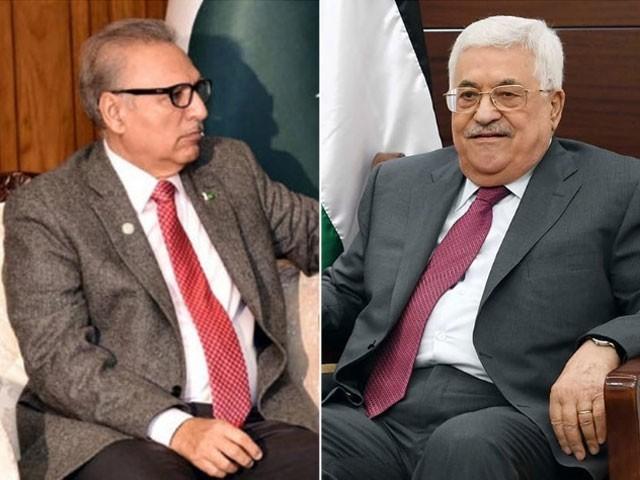 پاکستان مسئلہ فلسطین کے منصفانہ حل کیلئے اپنی غیر متزلزل حمایت جاری رکھے گا، صدر پاکستان۔ فوٹو:فائل