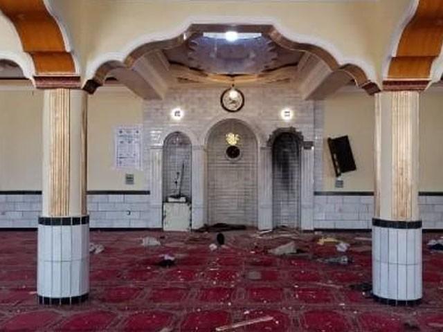 دھماکے میں امام مسجد مفتی نعمان بھی شہید ہوگئے، فوٹو: افگان میڈیا