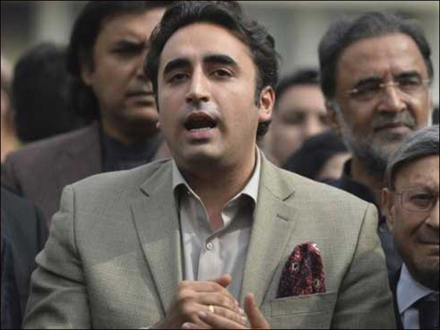 PTI will be responsible for the consequences of creating water crisis in Sindh, Bilawal said