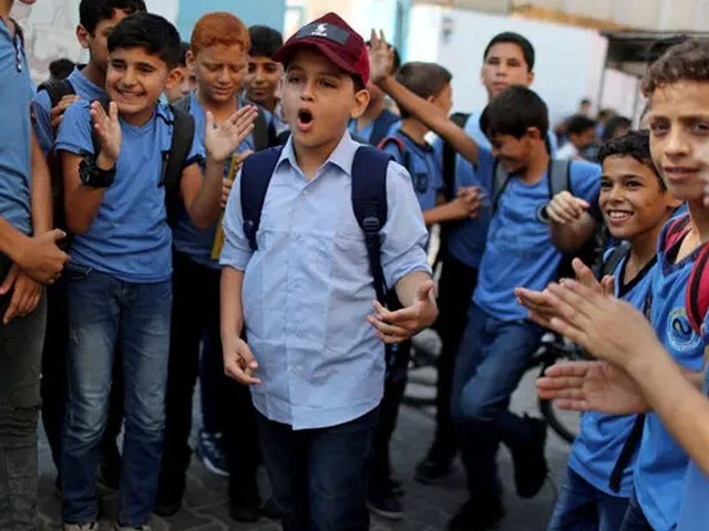 Video of an 11-year-old Palestinian boy singing about Israeli atrocities and the destruction of Gaza goes viral