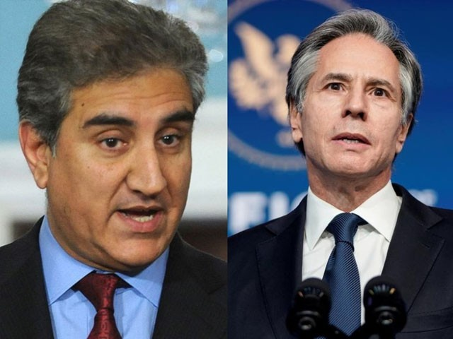 Shah Mehmood Qureshi's telephone contact with his American counterpart