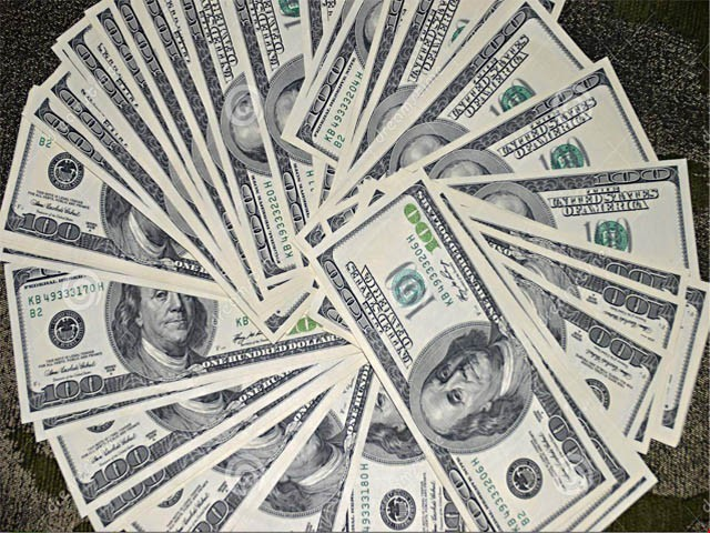 ملکی زرمبادلہ کے ذخائر میں 16 کروڑ 77 لاکھ  ڈالرز اضافہ ہوا ۔ فوٹو : فائل