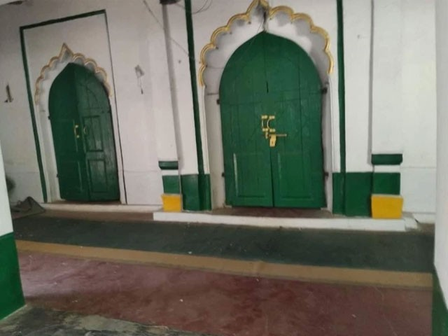 The Indian government martyred a 100-year-old mosque