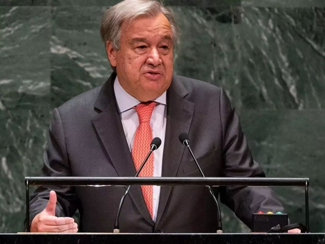 UN Secretary-General calls for immediate ceasefire with Palestine and Israel