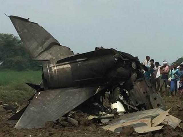 طیارہ تربیتی مشق کے دوران حادثے کا شکار ہوا، بھارتی فضائیہ