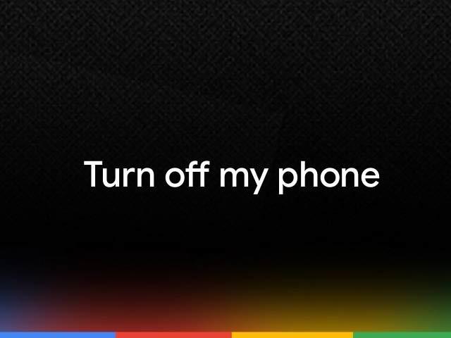 بہت جلد گوگل اسسٹنٹ کی بدولت فون کو آواز کے ذریعے بند کرنا ممکن ہوجائے گا۔ فوٹو: فائل