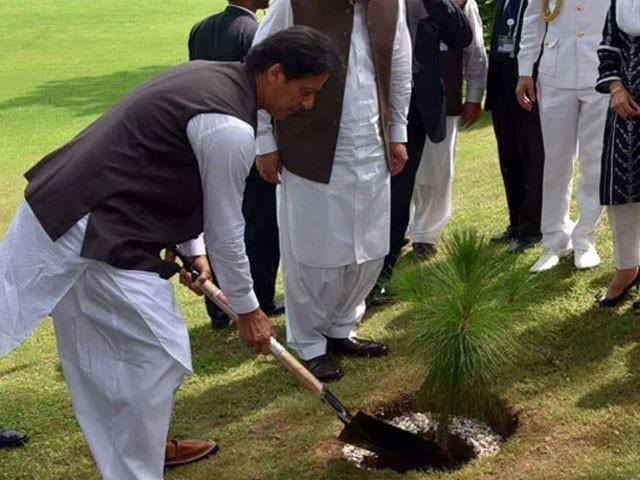 آئندہ نسلوں کےلیے بہترین پاکستان چھوڑنا چاہتے ہیں، وزیراعظم عمران خان۔ فوٹو:سوشل میڈیا