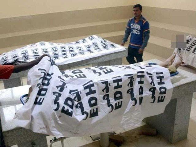 ابتدائی تحقیقات کے مطابق واقعہ غیرت کے نام پر قتل کا ہے، پولیس۔(فوٹو:فائل)