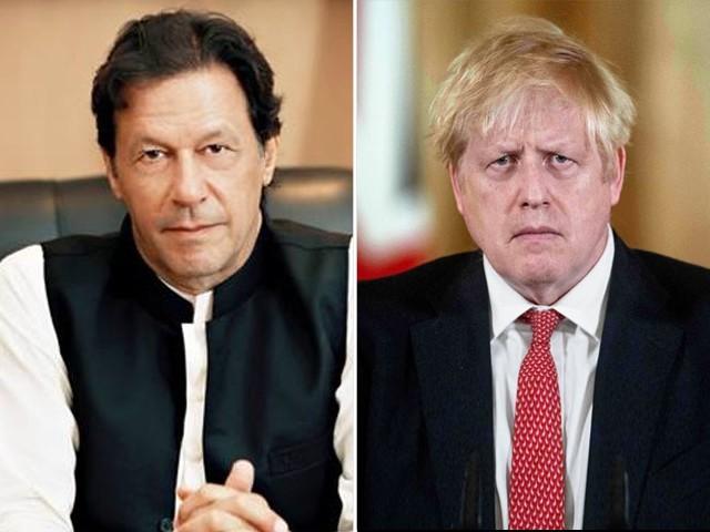 وزیر اعظم نے برطانیہ میں کورونا کا موثر طریقے سے مقابلہ کرنے پر وزیر اعظم بورس جانسن کی کوششوں کو سراہا۔(فوٹو:فائل)